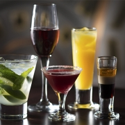 Disney Cruise Line offers a variety of tasting experiences designed just for adults, including an interactive Mixology session, where guests learn the secrets of creating the perfect cocktail. (Jimmy DeFlippo, photographer)